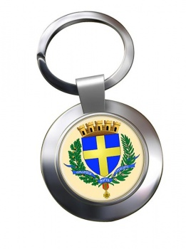 Toulon (France) Metal Key Ring