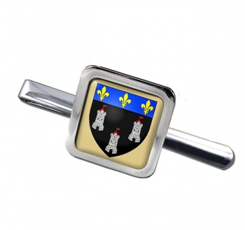 Tours (France) Square Tie Clip