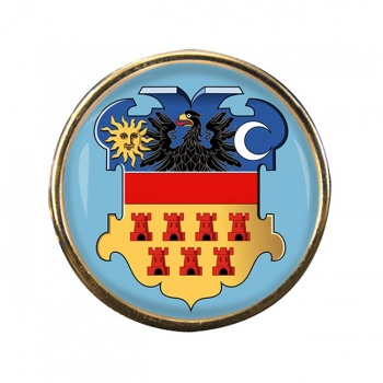 Transylvania (Romania) Round Pin Badge