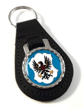 Trento (Italy) Leather Key Fob