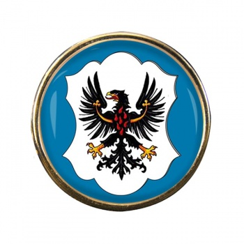 Trento (Italy) Round Pin Badge