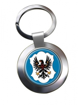 Trento (Italy) Metal Key Ring
