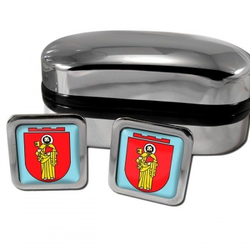 Trier Germany Square Cufflinks