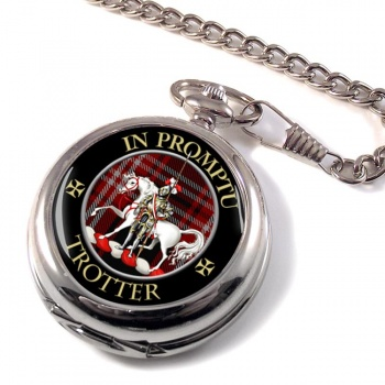 Trotter Scottish Clan Pocket Watch
