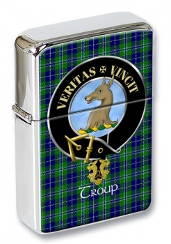 Troup Scottish Clan Flip Top Lighter