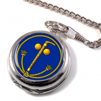 Tubal Cain (Two Ball and Cane) Masonic Pocket Watch