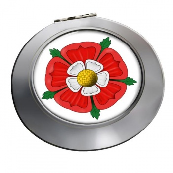 Tudor Rose Chrome Mirror