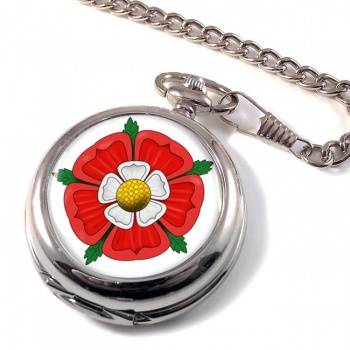 Tudor Rose Pocket Watch