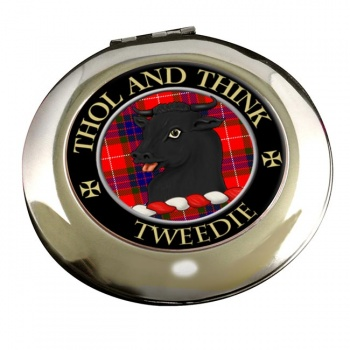 Tweedie Scottish Clan Chrome Mirror
