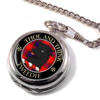 Tweedie Scottish Clan Pocket Watch