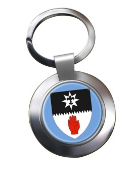 County Tyrone (UK) Metal Key Ring