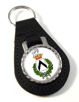 Udine (Italy) Leather Key Fob