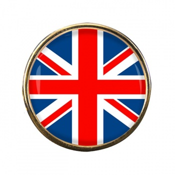 Union Jack Flag Lapel Pin Badge