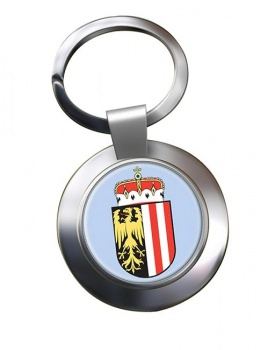 Upper Austria Oberosterreich Metal Key Ring