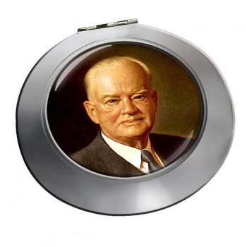 President Herbert Hoover Chrome Mirror