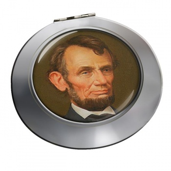 President Abraham Lincoln Chrome Mirror