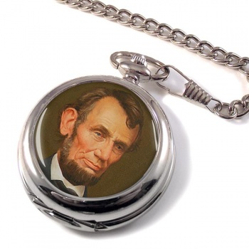 President Abraham Lincoln Pocket Watch