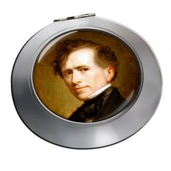 President Franklin Pierce Chrome Mirror