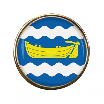 Uusimaa Round Pin Badge