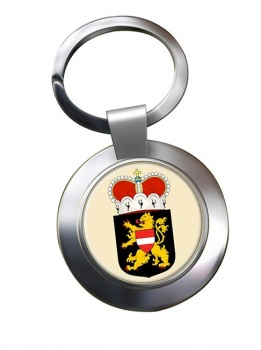 Vlaams-Brabant (Belgium) Metal Key Ring