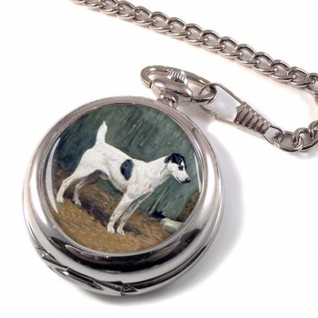 VENIO (A Fox Terrier) by John Emms Pocket Watch