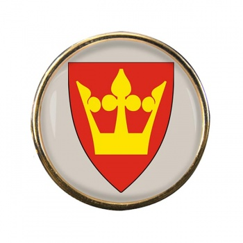 Vestfold (Norway) Round Pin Badge