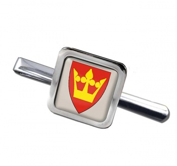 Vestfold (Norway) Square Tie Clip