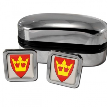 Vestfold Norway Square Cufflinks