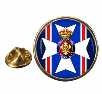Victorian Order Round Pin Badge