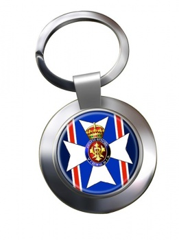 Victorian Order Chrome Key Ring