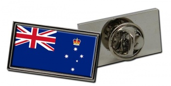 Victoria, Australia Flag Pin Badge