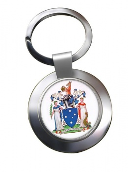 Victoria, Australia Metal Key Ring