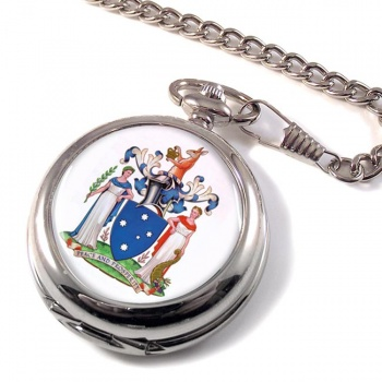 Victoria, Australia Pocket Watch