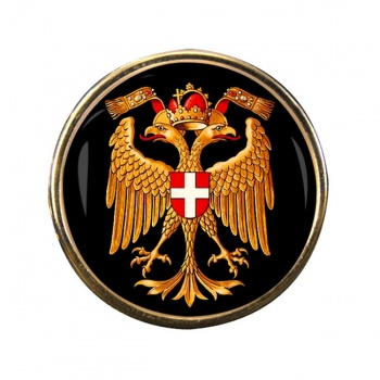 Wien Vienna (Austria) Round Pin Badge