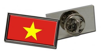 Vietnam Viet Nam Flag Pin Badge