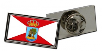 Vigo (Spain) Flag Pin Badge
