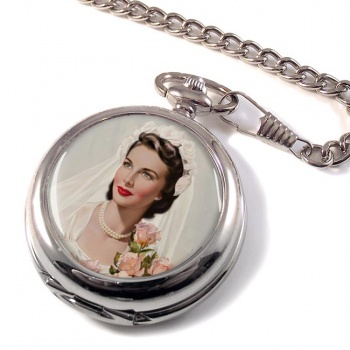 Vintage Bride Pocket Watch