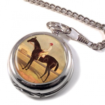 Racehorse Voltigeur by Herring Pocket Watch