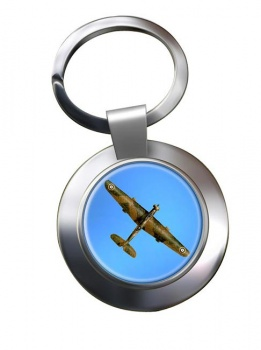 Vickers Wellesley Chrome Key Ring