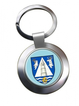 County Waterford (Ireland) Metal Key Ring