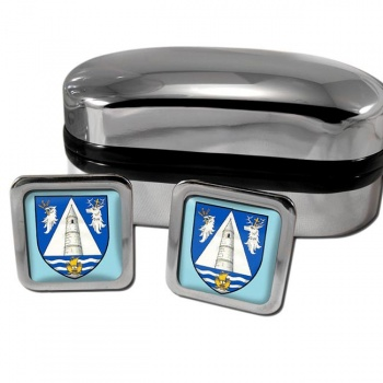 County Waterford Ireland Square Cufflinks