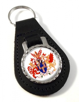 Worshipful Company of Chartered Accountants Leather Key Fob