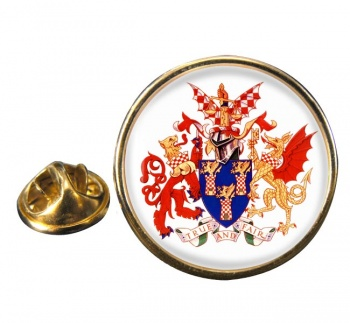 Worshipful Company of Chartered Accountants Round Pin Badge
