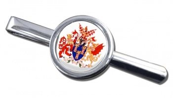 Worshipful Company of Chartered Accountants Round Tie Clip