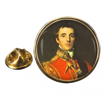 Arthur Wellesley Duke of Wellington Round Pin Badge