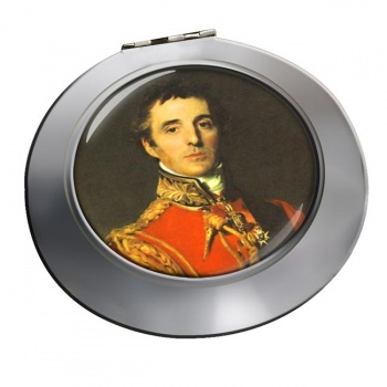 Arthur Wellesley Duke of Wellington Chrome Mirror