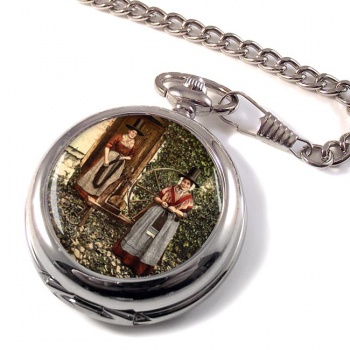 Welsh Costume Pocket Watch