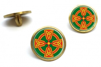 Welsh Celtic Cross Golf Ball Marker Set