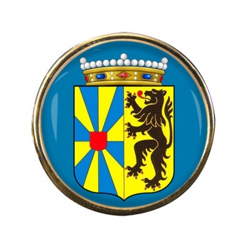 West-Vlaanderen (Belgium) Round Pin Badge