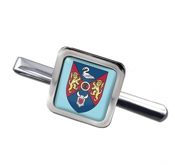 County Westmeath )Ireland) Square Tie Clip
